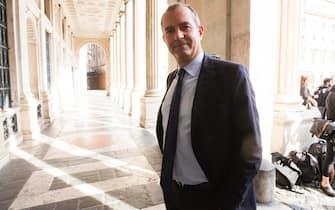 Foto LaPresse - Andrea Panegrossi 14/10/2019 - Roma, Italia. POLITICA Il convegno INPS per Tutti. Luigi De Magistris      Photo LaPresse - Andrea Panegrossi 14/10/2019- Rome, Italy The INPS conference for All