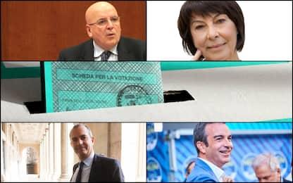 Elezioni regionali Calabria 2021, chi sono i 4 candidati. FOTO