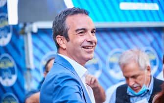 Roberto Occhiuto  durante  Giorgia Meloni a Catanzaro, News in catanzaro, Italia, 14 settembre 2021