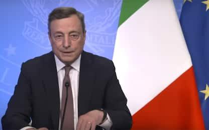 """Draghi: """"Governo candiderà Roma per Expo 2030"""""""