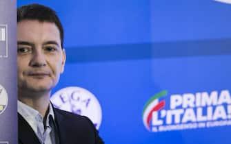 Luca Morisi in un'immagine del maggio 2019