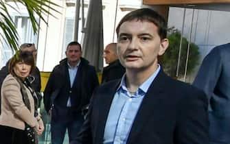 Luca Morisi in occasione degli Stati Generali amministratori regionali della Lega, Roma, 17 febbraio 2020