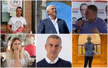 Elezioni comunali a Rimini 2021: chi sono i 6 candidati a sindaco