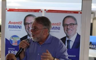 Mario Erbetta, Rimini