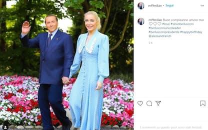 Berlusconi compie 85 anni: gli auguri della fidanzata Marta Fascina