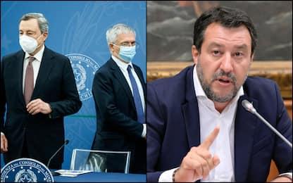 Fisco, Lega non partecipa al Cdm: botta e risposta Draghi-Salvini