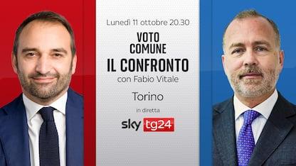 """Ballottaggio Torino, stasera """"Il confronto"""" tra candidati su Sky TG24"""