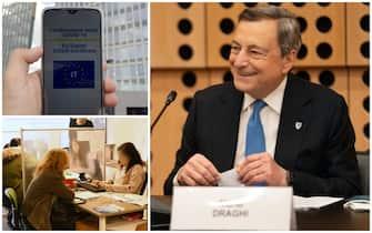 Mario Draghi in conferenza stampa ha firmato Dpcm