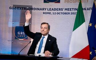Draghi al G20 sull'Afghanistan