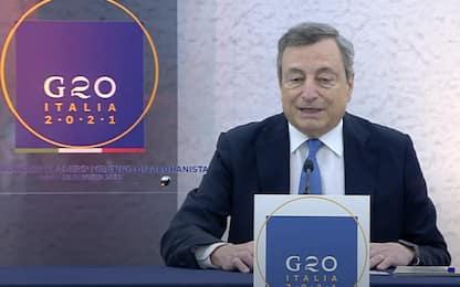 G20 a Roma: per Draghi bilaterali con Biden, Modi e Guterres