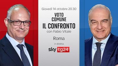 """Ballottaggio Roma, stasera """"Il confronto"""" tra candidati su Sky TG24"""