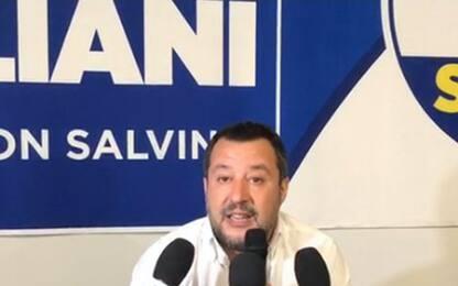 Salvini commenta le elezioni comunali: più città al Centrodestra