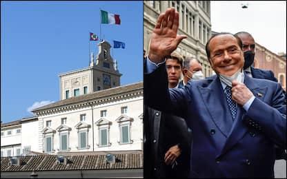 Berlusconi e l'ipotesi Quirinale: chi lo appoggerebbe e chi no