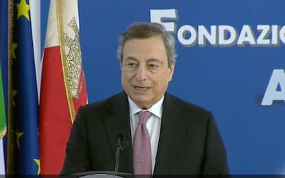 """Draghi: """"Investire nella scuola, giovani al centro azione di governo"""""""