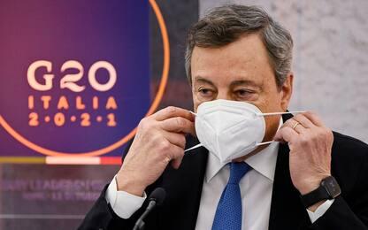 G20 Roma, dal clima alla pandemia: il ruolo e le sfide di Draghi