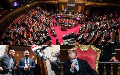 """Ddl Zan, ok a """"tagliola"""" di Lega e FdI con 154 sì, stop esame"""