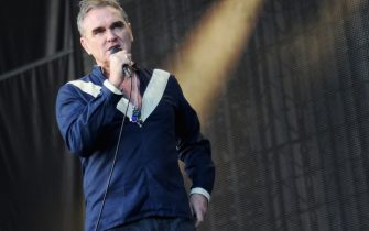 DOVER, DE - JUNE 19:  Musician Morrissey performs onstage during day 2 of the Firefly Music Festival on June 19, 2015 in Dover, Delaware.  (Photo by Ilya S. Savenok/Getty Images for Firefly)