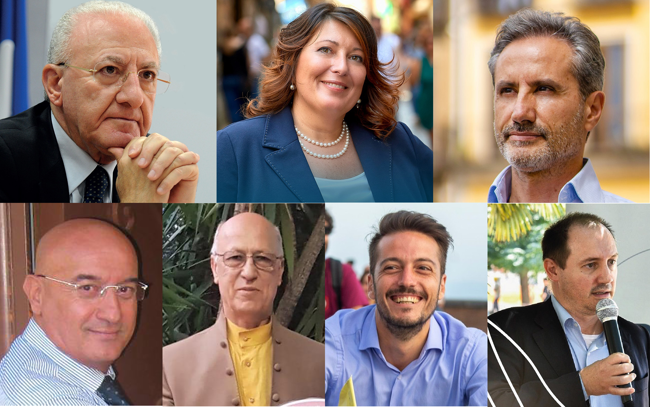 Candidati elezioni regionali Campania