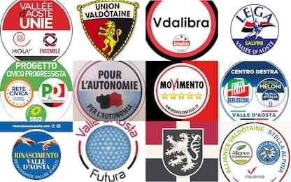 Elezioni regionali in Valle d'Aosta, le liste candidate e come si vota
