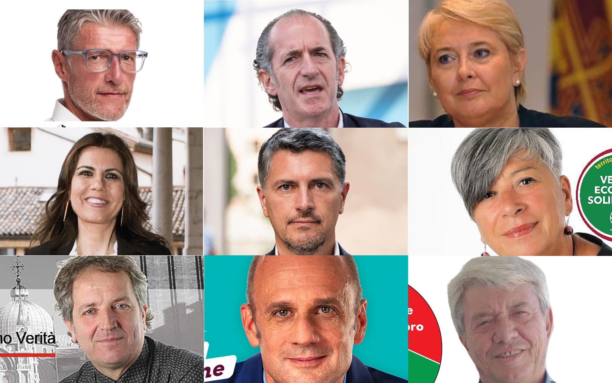 Candidati elezioni regionali Veneto