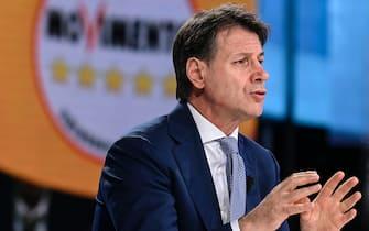 Former prime minister, Giuseppe Conte, 13 June 2021. ANSA/RICCARDO ANTIMIANI