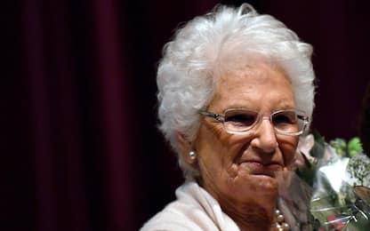 """Liliana Segre: """"Il Covid è una guerra. Piango per anziani morti soli"""""""