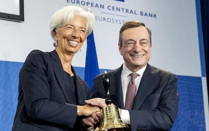 """Governo, Lagarde: """"Draghi rilancerà l'economia italiana con aiuto Ue"""""""