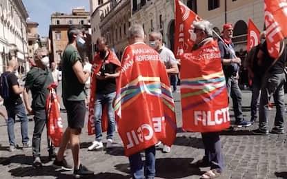Manifestazioni a Roma e Milano per sollecitare pagamento Cig. VIDEO
