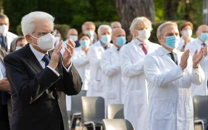 """Coronavirus Roma, Mattarella: """"Grazie Spallanzani, prezioso per Paese"""""""