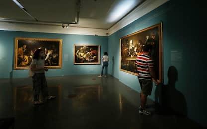 """Caravaggio, in Campidoglio l'opera """"Ragazzo morso da un ramarro"""""""