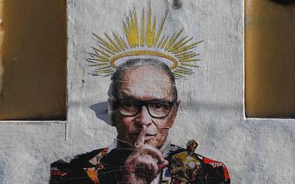 Roma, a Trastevere un murales per celebrare Ennio Morricone. VIDEO