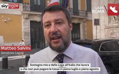 Coronavirus, Salvini: Sostegno a commercialisti e lavoratori autonomi