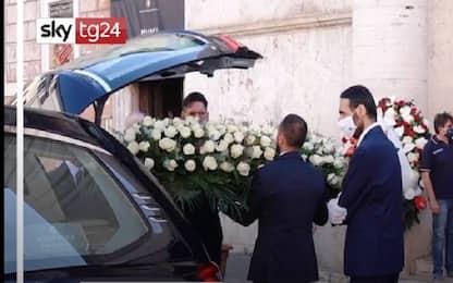 Roma, i funerali di Sergio Zavoli a San Salvatore in Lauro