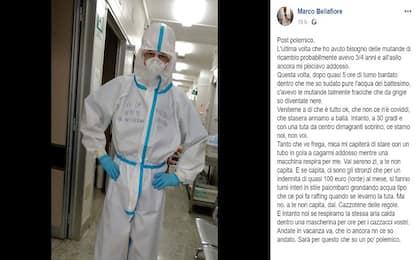"""Coronavirus Roma, un infermiere: """"Venitemi a dire che non c'è Covid"""""""