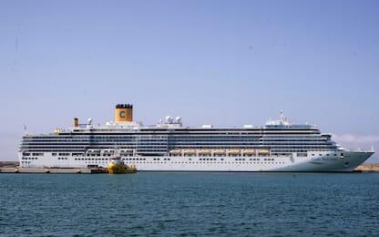 Coronavirus, 2 navi da crociera in isolamento in porto a Civitavecchia