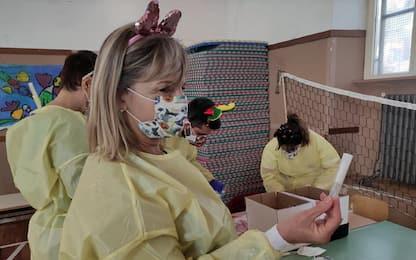 Coronavirus, in due materne di Fiumicino test salivari su 94 bimbi