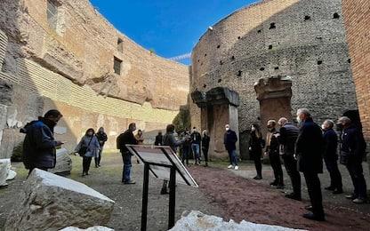 """Roma, riapre il Mausoleo di Augusto. Raggi: """"Restituiamo un gioiello"""""""