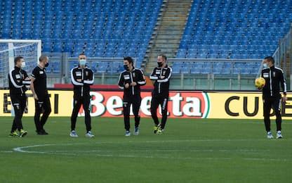 Covid, non si gioca la partita tra Lazio e Torino