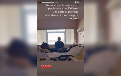 """Covid, Luca Zingaretti: """"Torno a casa, grazie per le cure e l'affetto"""""""