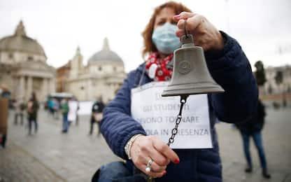 A Roma manifestazione nazionale per la riapertura delle scuole. VIDEO