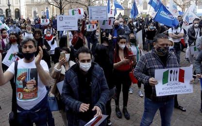 """Covid Roma, questura: """"Non autorizzato sit-in IoApro a Montecitorio"""""""
