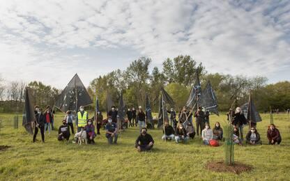Giornata della Terra, sull'Aniene il land art project 'Aula Verde'