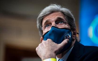 """Clima, Kerry a Roma: """"Le emissioni vanno ridotte in questo decennio"""""""