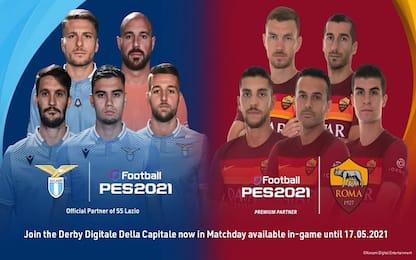 Calcio, Pes 2021: Pedro e Pereira giocano derby digitale di Roma
