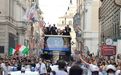 """Roma, prefetto: """"Festa su bus non prevista"""". Figc: """"Scelta condivisa"""""""