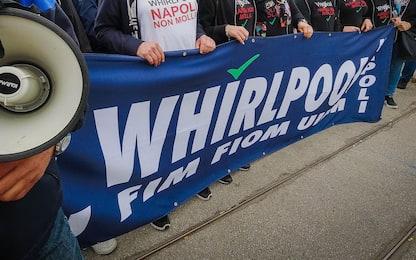Whirlpool Napoli, presidio davanti al palazzo della Regione