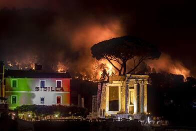 Incendio sul Monte Catillo, la Procura di Tivoli avvia un'inchiesta