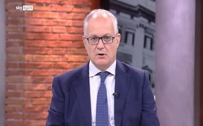 """Elezioni Roma, Gualtieri a Sky TG24: """"Priorità? Ripulire la città"""""""