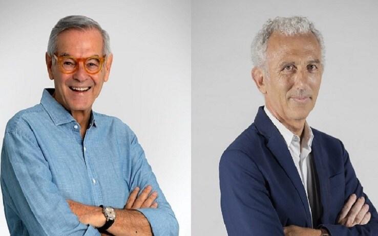 Vincenzo Zaccheo (a sinistra) e Damiano Coletta (a destra)