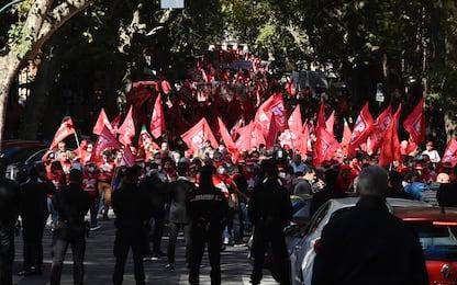 """Roma, sindacati in piazza: al via la manifestazione """"Mai più fascismi"""""""